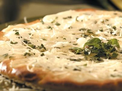 pizza blanca