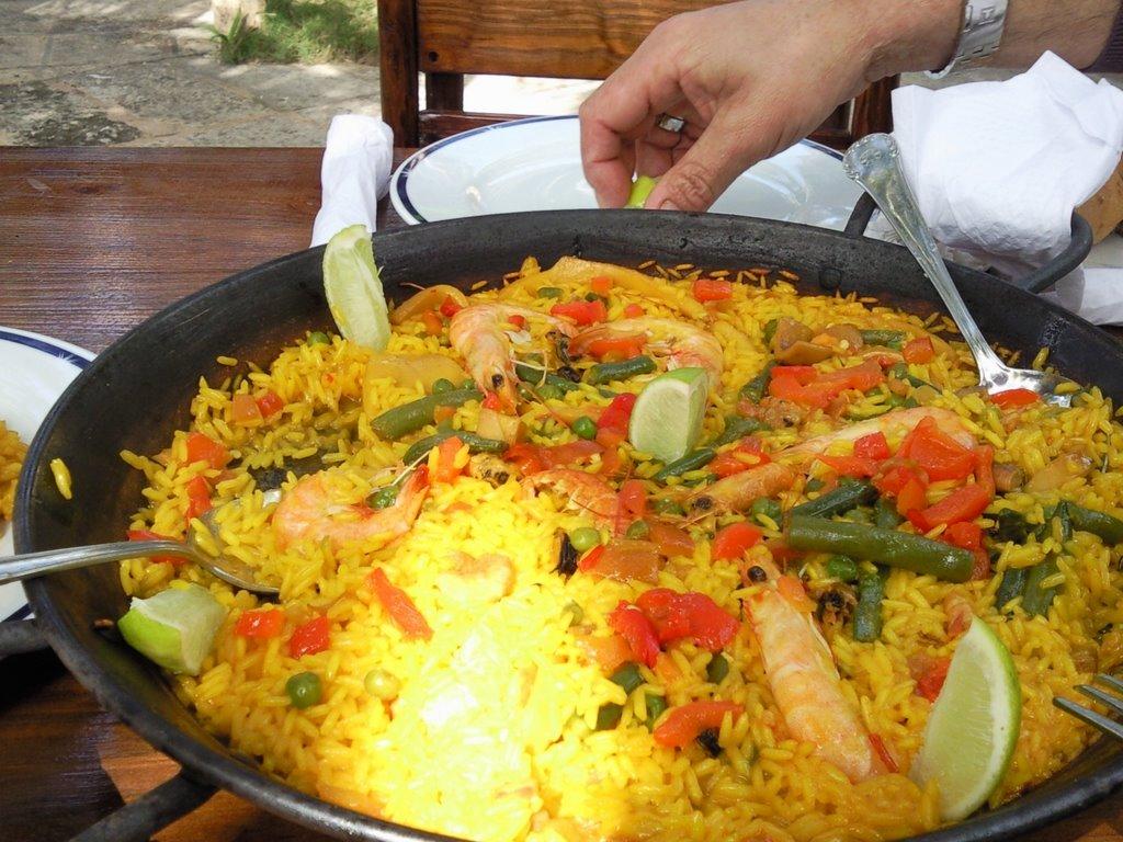 paella cubana