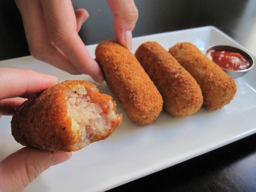Receta basica de Croquetas usando alimentos cocidos