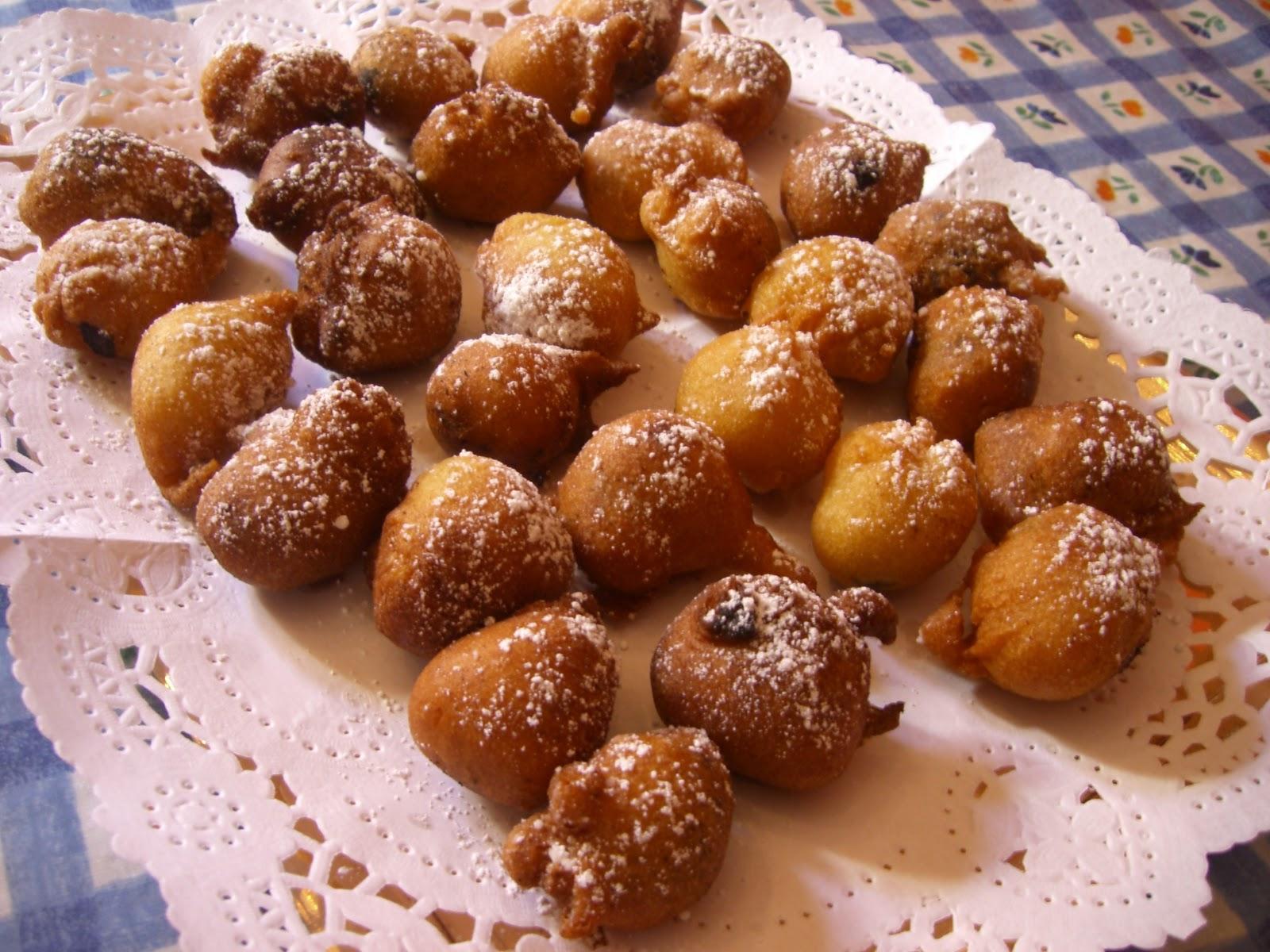 buñuelos dorados