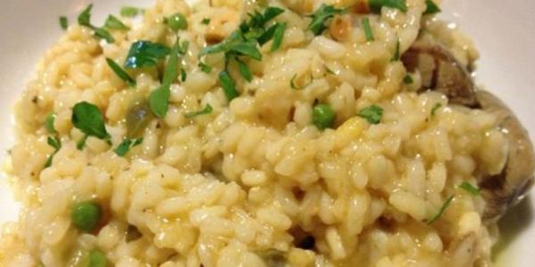 arroz con pescado a la jardinera
