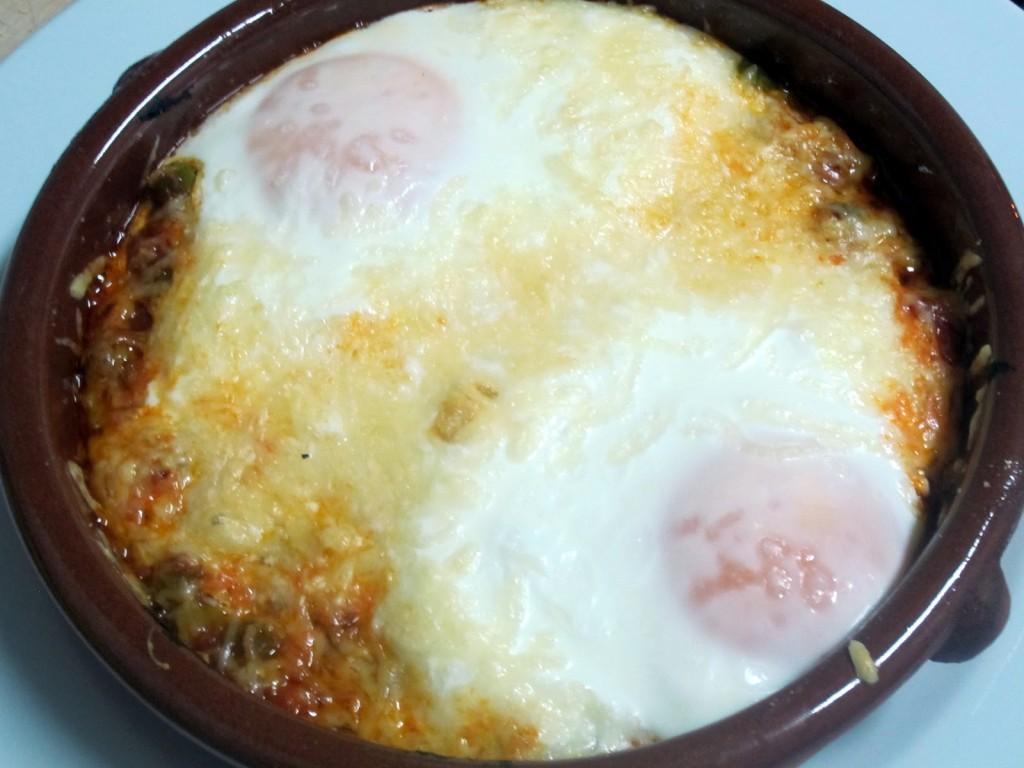 Huevos al horno