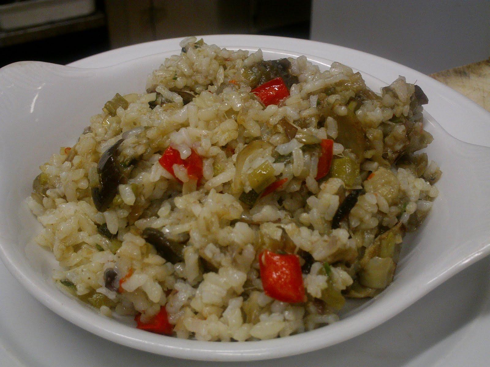 Receta de Arroz pilaf con verduras