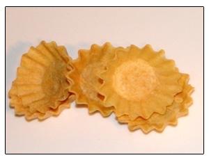 Receta de masa para tartaletas. Gloton Cubano.